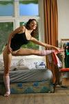 flexible nude gymnists