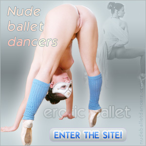 ballete dancer with camel toe