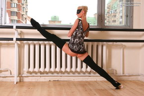 leotard flexible photo