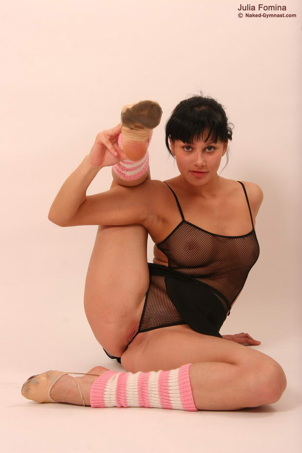 Porn nude flexible ballet dancer