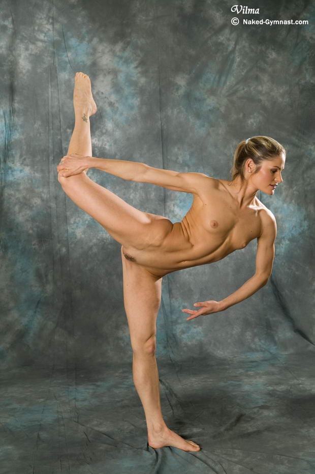 nude ballet in hair