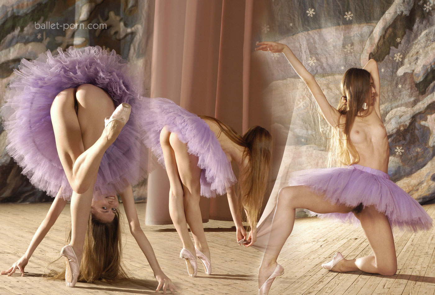 Naked male ballet dancers
